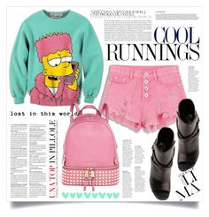 """COOL RUNNINGS"" by virgamaleva ❤ liked on Polyvore featuring Yves Saint Laurent and MICHAEL Michael Kors"