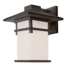 Trans Globe Lighting 40021 RT 11-Inch Mission Wall Lantern, Rust by Trans Globe Lighting. $169.10. A matching collection of classic outdoor landscape decor. Square frame and shade, with decorative strips. Angled roof with chimney stack. Great style.