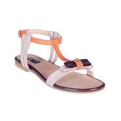 Sandalia plana lazo - Sandalias planas - Zapatos - Tiendacuple.com