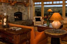 country home decor, western home decor Ranch Hotel, Rustic Western Decor, Ranch Style Homes, Western Homes, Cabin Homes, Rustic Interiors, Decoration, Great Rooms, Sweet Home