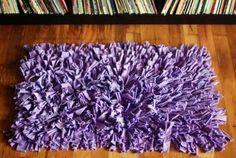 alfombra peluda