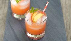 Frozen Peach Lemonade  | Cafe Milano | Pune