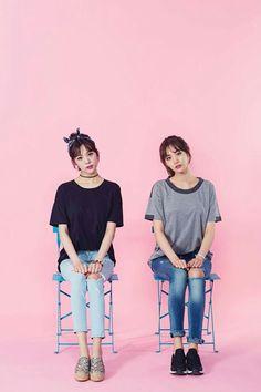 After School Nana & Lizzy Lizzy After School, Korean Pop Group, Orange Caramel, Most Beautiful Faces, Korean Entertainment, Popular Music, Tumblr Girls, Sweet Girls, Nice Body