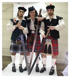 kilts and swords