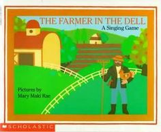 The Farmer in the Dell (A Singing Game) Traditional Words and Music Illustrated by Mary Maki Rae This book features a description of the circle game which can be played when singing this song as well as printed music.