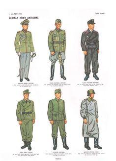 german army uniforms