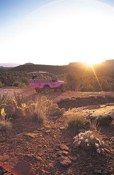 Sedona, Arizona. Pink Jeep tours!!