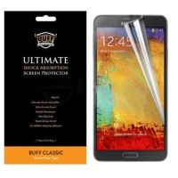 Buff Armor Samsung Galaxy Note 3 III N9000 Front Screen Protector Scratch Guard Antishock AntiScratch Tough