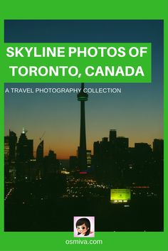 Skyline Photos of Toronto, Canada compiles some interesting captures of the city from different and popular angles. A collection from great photographers!