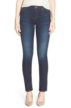 KUT from the Kloth 'Diana' Stretch Skinny Jeans (Blinding) (Regular & Petite)