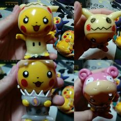 Pikachu Cosplay, Mimikyu y Mega Slowbro :)