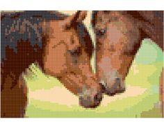 Horse Cross Stitch Pattern  Printable PDF   Immediate by vitbich