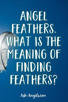 Angels will use feathers of all shapes, colors and sizes to get your attention. Feathers are a beautiful reminder to pay attention and that angels are near!  #angels #angelfeathers