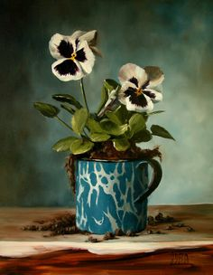 ❀ Blooming Brushwork ❀ - garden and still life flower paintings - Julie Y Baker Albright (b.1958)