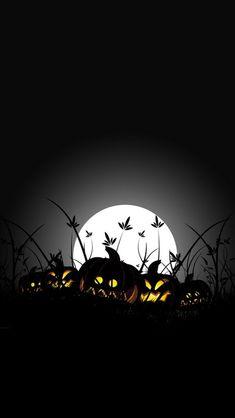 Moon Halloween pumpkin iPhone 5 wallpapers | Top iPhone 5 Wallpapers.com