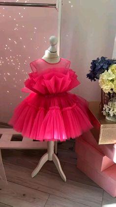 Dress Barbie, Barbie Costume, Baby Barbie, Girl Barbie, African Dresses For Kids, Dresses Kids Girl, Dress Girl, Baby Dresses, Baby Girl Birthday Dress