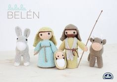 38 Ideas for crochet patrones amigurumis navidad Crochet Amigurumi, Amigurumi Patterns, Amigurumi Doll, Crochet Dolls, Crochet Chart, Love Crochet, Knit Crochet, Christmas Nativity, Holidays