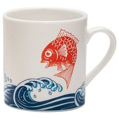 Sea Bream Mug from Stash Tea