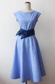 blog krawiecki, blog o szyciu, handmade clothes, krawiectwo, making dresses, retro dress, retro sukienka, sukienka handmade, szycie na maszy...