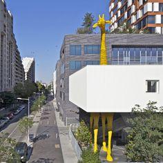 Studio à Paris, Hondelatte Laporte Architectes