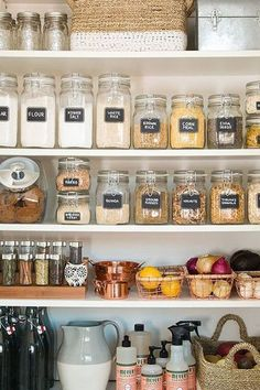Pantry Styling - The Top Home Solution Trends In 2017, According To Pinterest - Photos
