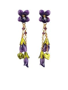 Les Néréides Violeta Earrings
