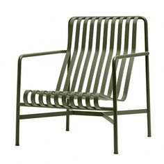 Hay's Palissade lounge chair, high, olive