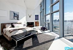 Another great bedroom in 100 11th Ave, from Episode 6 of Bravo's 'Million Dollar Listing New York'