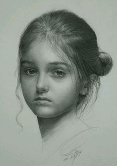 Pencil sketches of children - Google Search