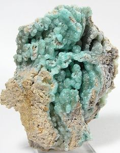 Blue Green Smithsonite Kelly Mine New Mexico