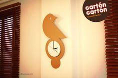 Reloj de cuco de cartón. By cartóncartón
