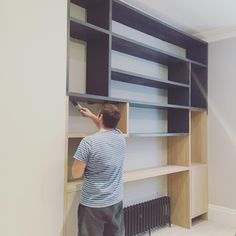 "(@sophiamontaiguedesign) on Instagram: ""Bespoke shelving and cabinetry"