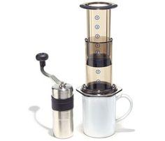 Ritual's Traveling Brewer's Kit: Porlex Grinder + AeroPress Brewer! #Coffee #Travel
