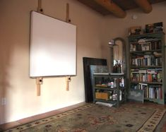 Ultimate wall easel - would take up my entire studio... but I can dream