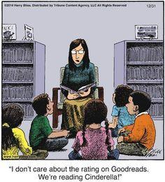 Cinderella vs. Goodreads