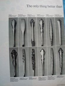 1000 Images About My Stainless Steel Flatware Patterns On Pinterest Flatware Cambridge And