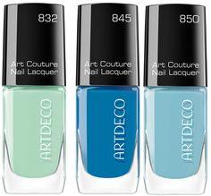 Artdeco Art Couture Nail Lacquer Summer 2014 Collection