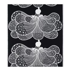 Love this Ikea fabric.would like to handpaint petals in my color schemes! Ikea Fabric, Cool Fabric, Curtain Fabric, Fabric Art, Coffee Table Inspiration, Henna Style, Tangle Doodle, Needle And Thread