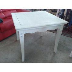 Tavolo da cucina duetto laccato bianco tavoli for Tavoli ovali bianchi