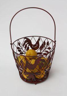 Rooster Farm Friend Basket