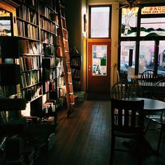 My new favorite place. ☕ Night Heron Books in downtown Laramie is a great place to read and enjoy a coffee!!