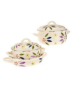 Confetti Old-World Five-Piece Enamel Cookware Set by Temp-Tations