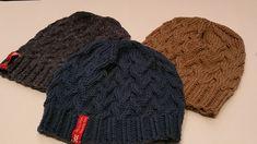 Eine simple Mütze glatt rechts in Runden gestrickt mit einem einfachen Zopfrapport, auch für Anfänger geeignet. Das Bündchen ist in verschränkten Maschen gearbeitet.