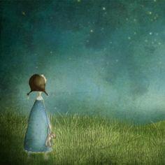 Under stjärnorna - Illustration (liten storlek)