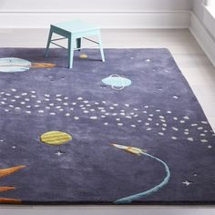 View the outer space themed bedroom at Crate and Barrel to find design ideas and inspiration for space bedding, decor, furniture and more. Boys Space Bedroom, Outer Space Bedroom, Space Boy, Boy Room, Pet Shop Boys, Bedroom Themes, Nursery Themes, Bedroom Ideas, Nursery Ideas