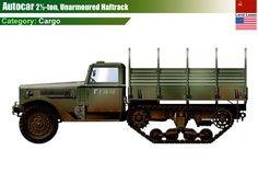Autocar Halftrack Cargo