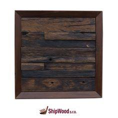 Ručně vyráběný obraz vyskládaný kousek po kousku ze dřeva vysloužilých lodí Dálného východu vsazený do kvalitního dřevěného rámu.   Rozměr obrazu 340 x 340 mm.  Součástí dodávky rámu (obrazu) je kovové očko vč. hřebíčků pro umístění na rám dle potřeb zákazníka. Furniture, Home Decor, Decoration Home, Room Decor, Home Furnishings, Home Interior Design, Home Decoration, Interior Design, Arredamento