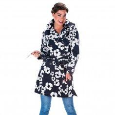 Trenchcoat Beata zwart/kit Peplum, Kit, Tops, Women, Fashion, Moda, Women's, Fashion Styles, Woman