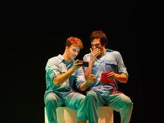 Mateus e Miguel contracenam pela quarta vez (Foto: Vitor Zorzal)