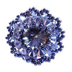 Schéma de bague en perles n°019, Bagues en perles, Schémas (gratuits)